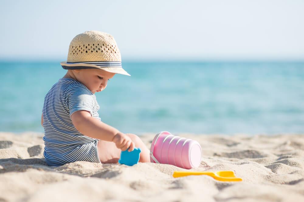 Férias com a família na praia, em meio à natureza