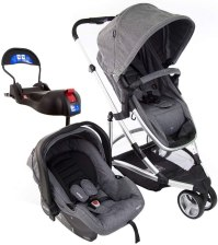 Carrinho com bebê conforto Sky Trio Travel System, Infanti