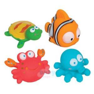 Bichinhos aquáticos para brincar no banho