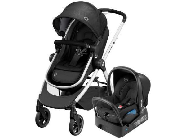 carrinho de bebê com bebê conforto anna maxi-cosi