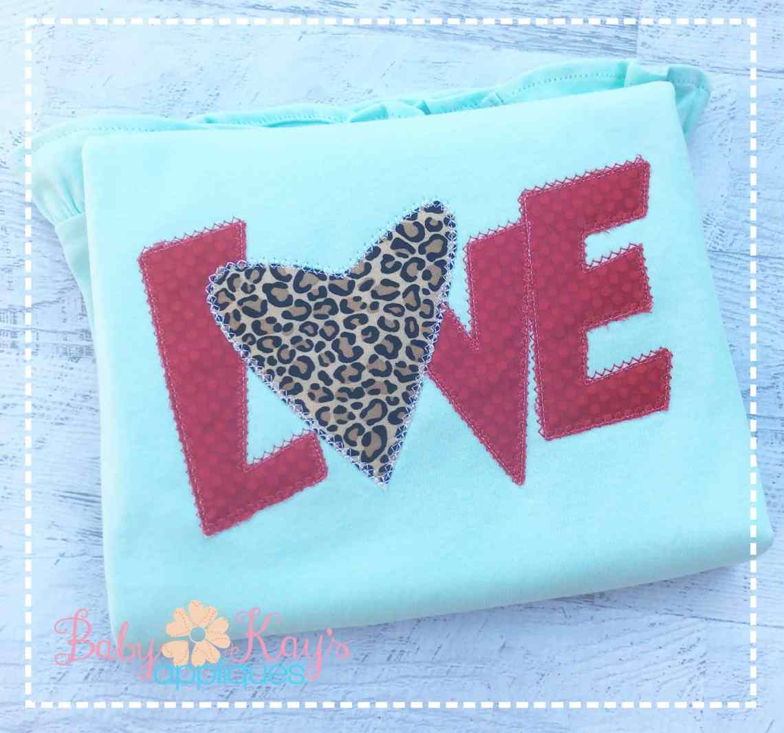 Download LOVE with a Heart Patchwork Design 4x4, 5x7, 6x10, 8x8 ...