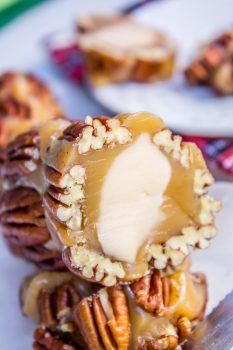 Caramel Candy Pecan Roll from The Food Charlatan