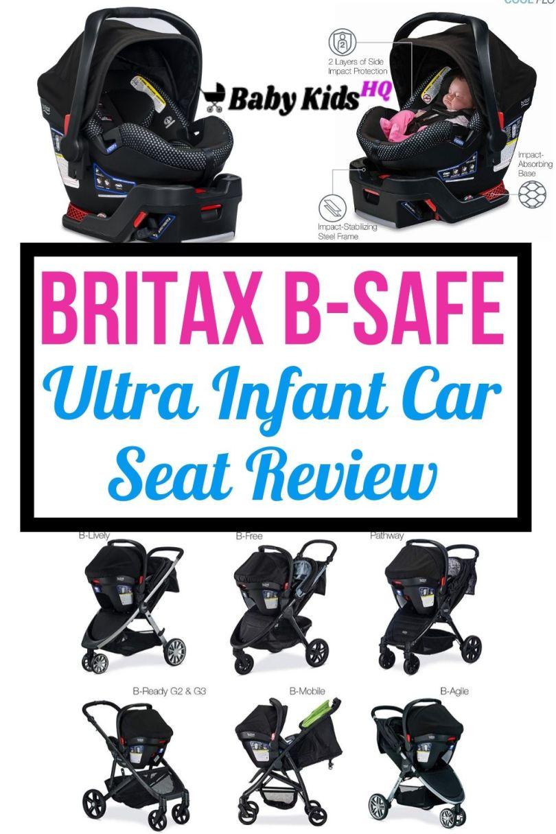 Britax B-Safe Ultra Infant Car Seat Review