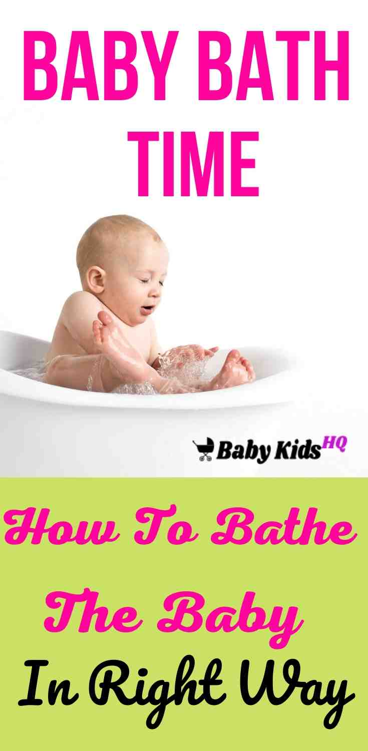 Baby Bath Time: How To Bathe The Baby In Right Way? 3