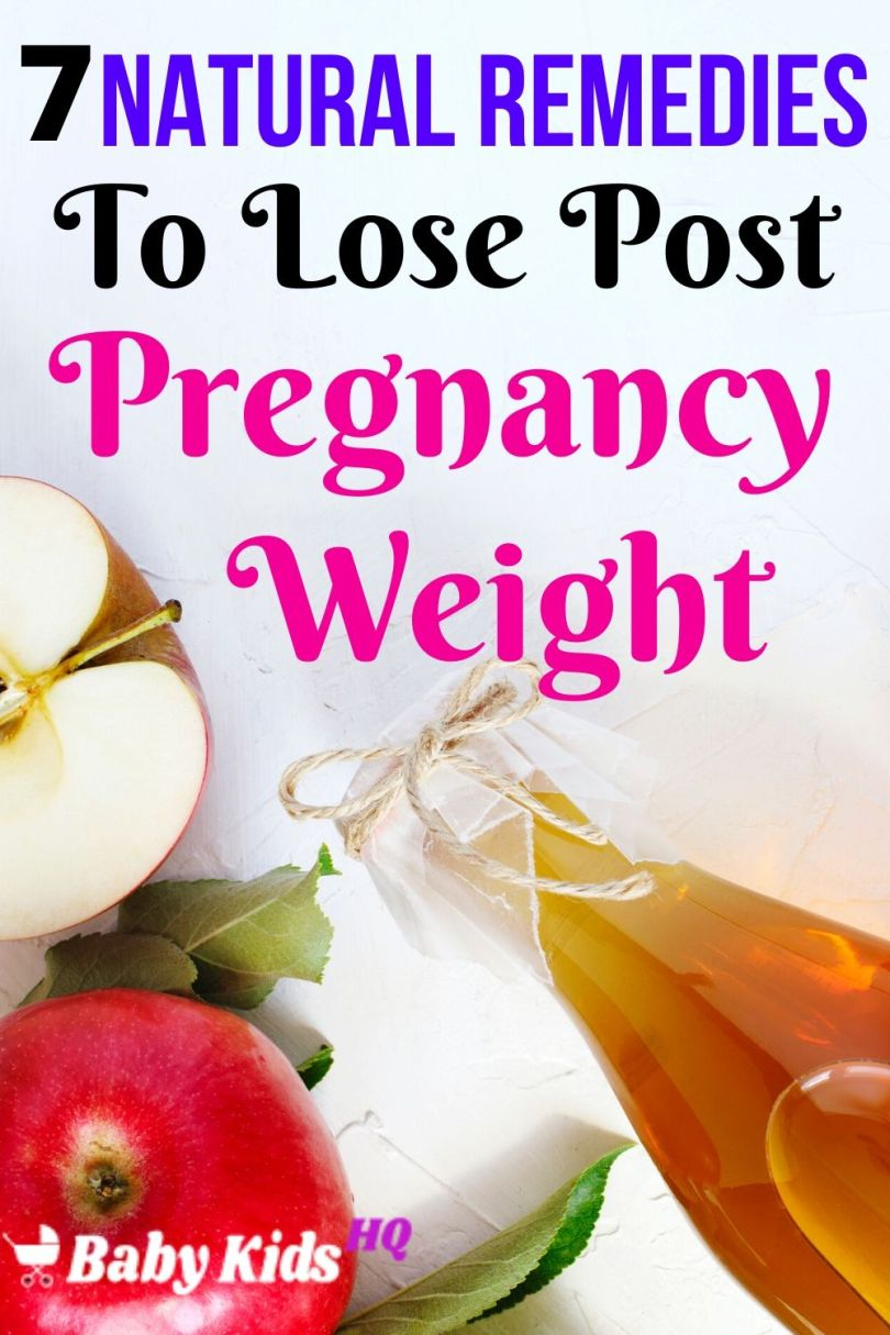 7 Natural Home Remedies To Lose Post Pregnancy Weight.