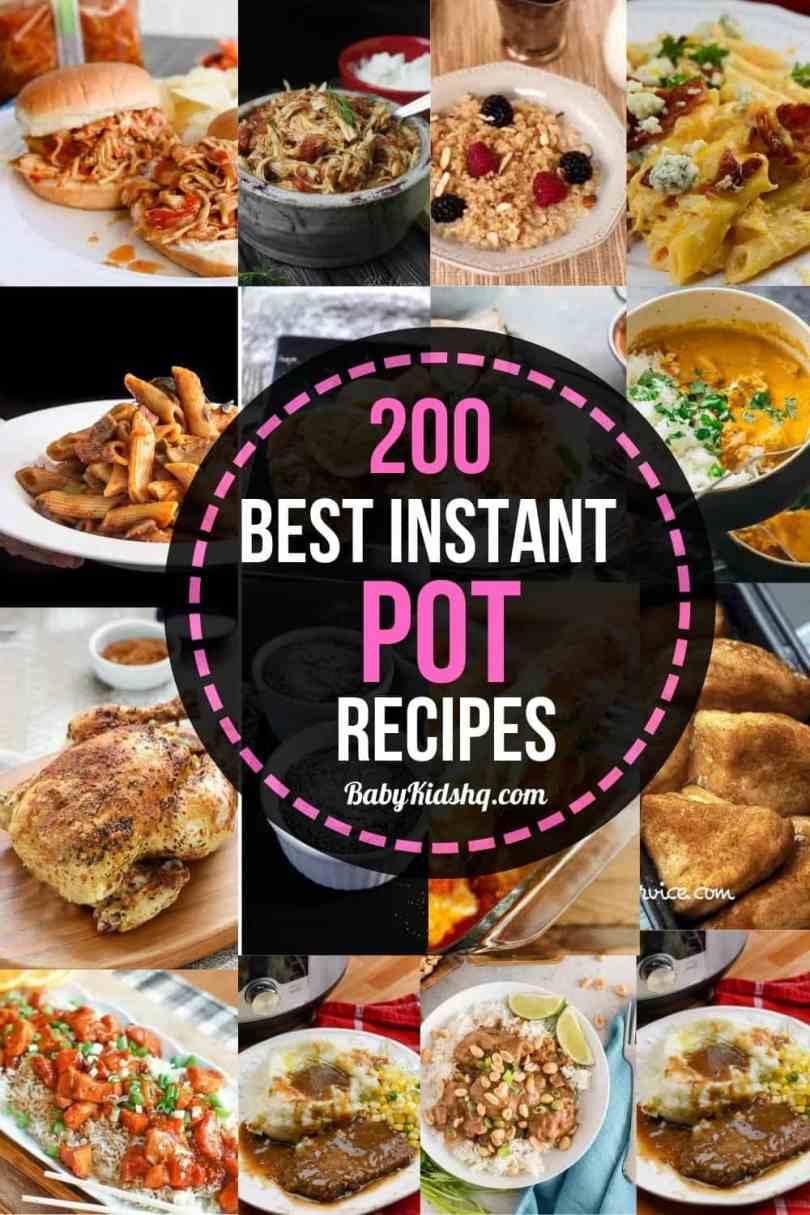 200 best instant pot recipes