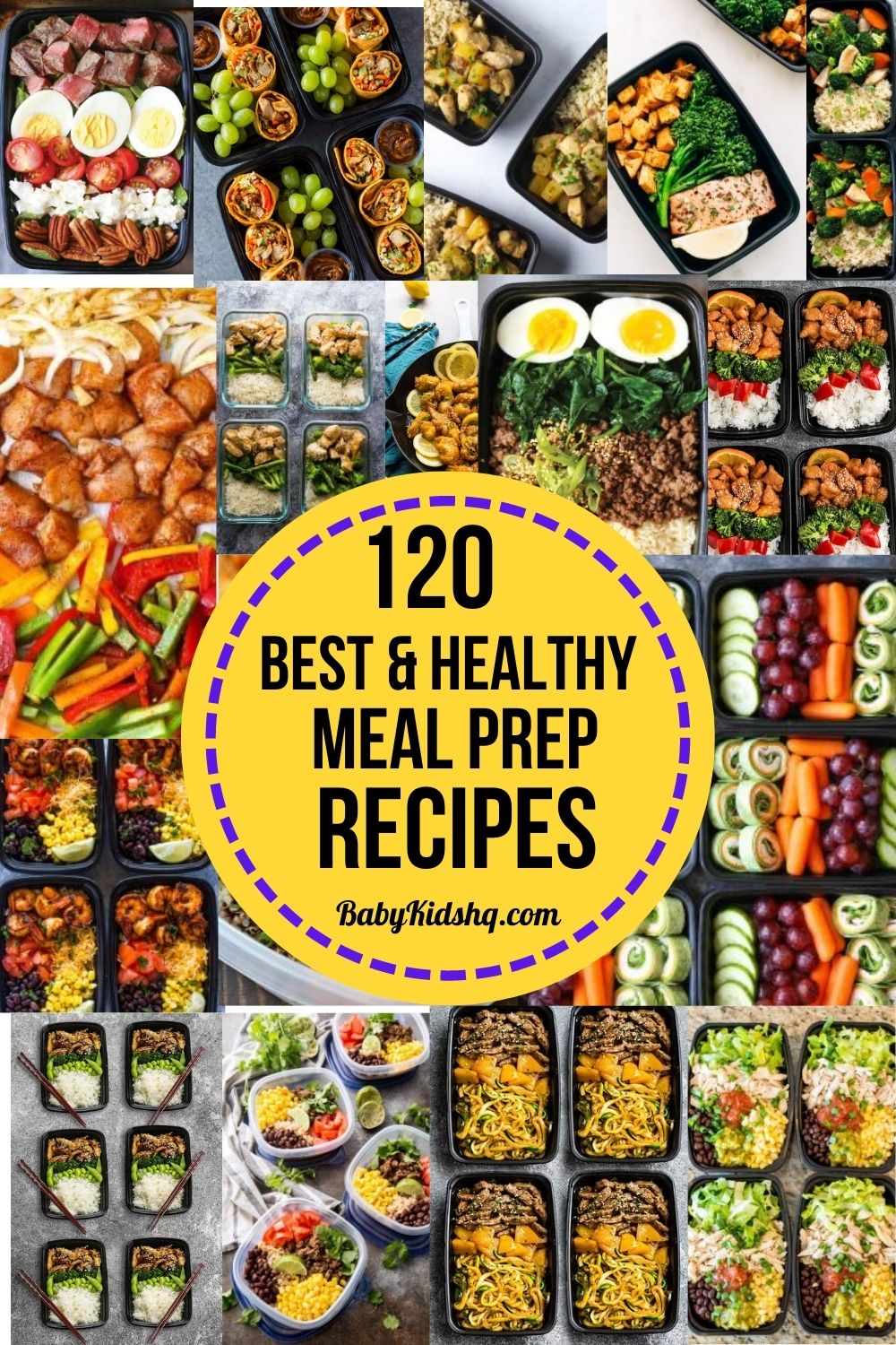 120 Best and Healthy Meal Prep Recipes