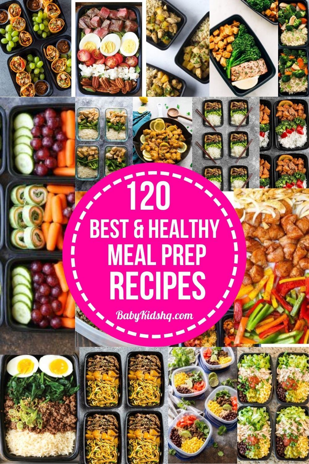 120 Best and Healthy Meal Prep Recipes 36