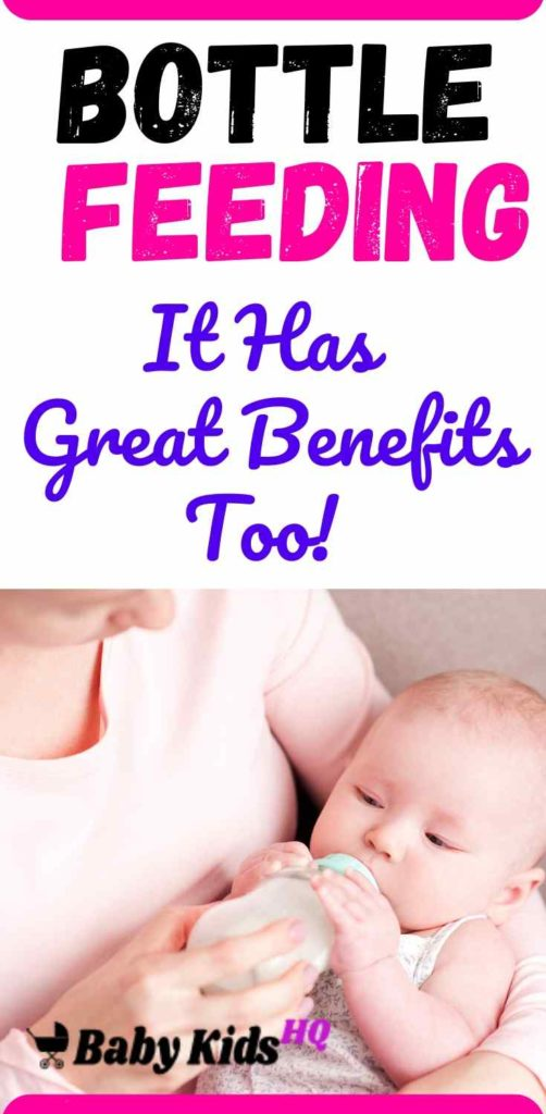 If for some reason you're unable to breastfeed and need to bottle feed your baby, there's no need to put yourself through the guilt trap. Yes breast milk is considered better than formula, but if you are finding breast feeding difficult or painful, or if you're simply unable due to work commitments, bottle feeding baby will still give him a great start in life. #newmom #newmomtip #bottlefeeding #pregnancy #pregnancytips