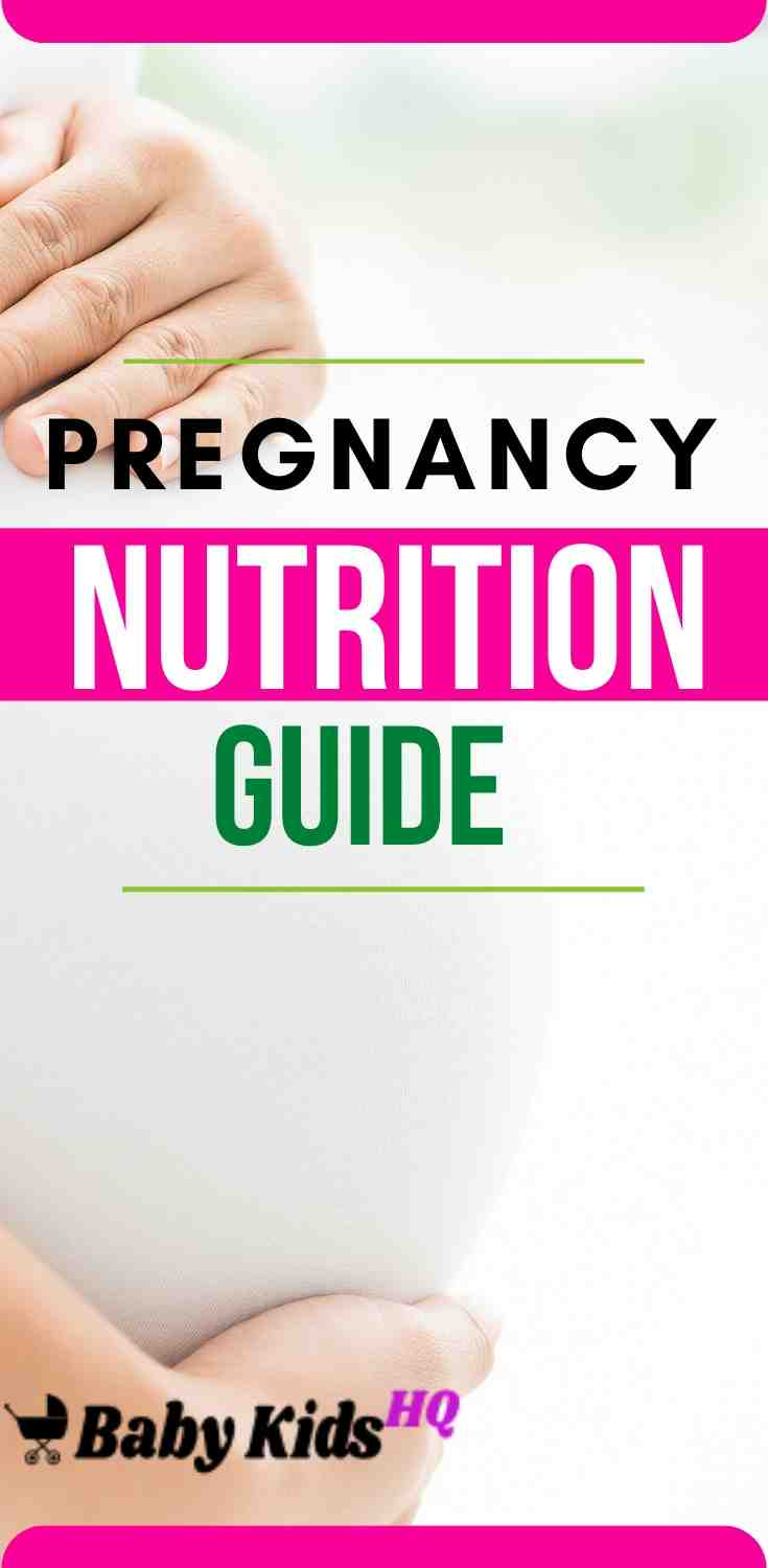 Pregnancy Nutrition Guide