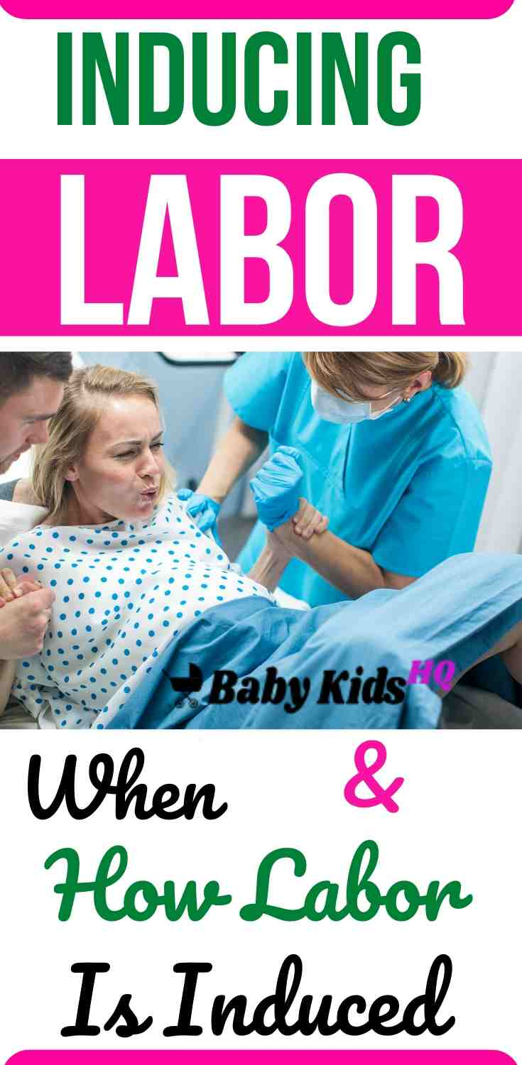 Inducing Labor When and How Labor Is Induced
