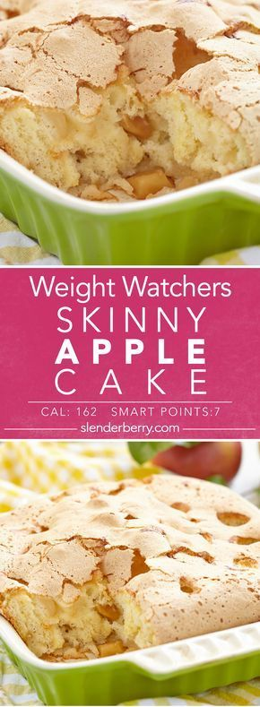 Skinny Apple Cake