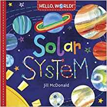 Hello World Solar System by Jill McDonald book cover