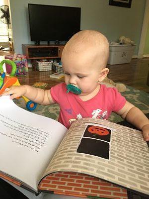 Marian reads Stumpkin