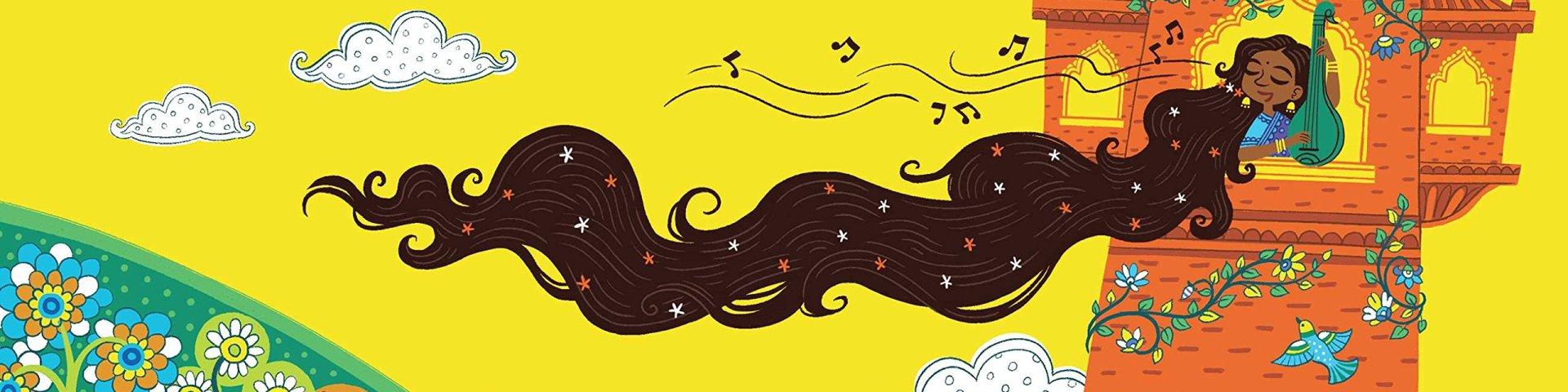 Spread of Rapunzel by Chloe Perkins