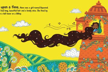 Spread of Rapunzel by Chloe Perkins