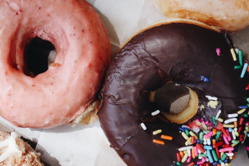 Donuts, Photo by Anna Sullivan on Unsplash