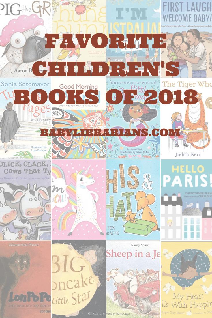 Favorite Children's Books of 2018 Graphic