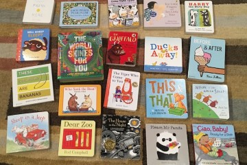 Bunch of favorite board books