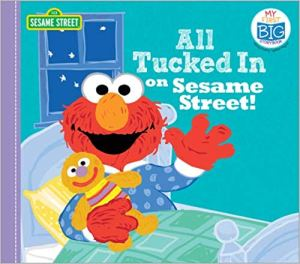 Cover of All Tucked In on Sesame Street by the Sesame Workshop