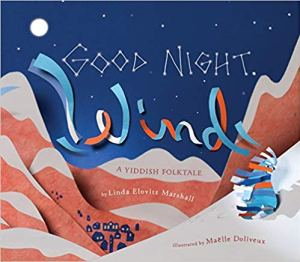 Cover of God Night A Yiddish Folktale