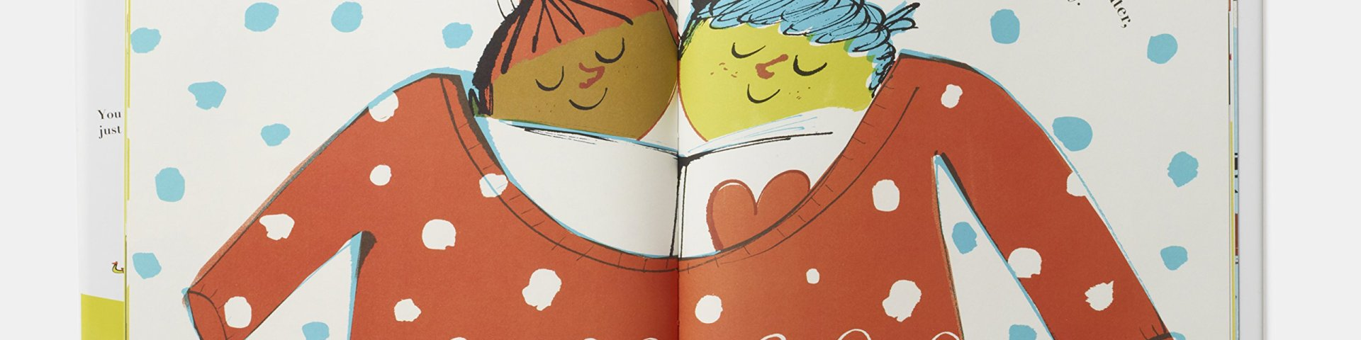 Hug this book spread and featured image