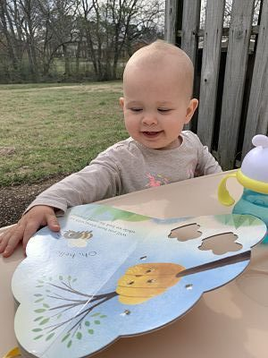 Marian reads Hello Honeybees by Rogge