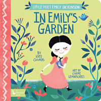 Cover of Little Poet Emily Dickinson: In Emily's Garden by Coombs