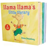 Book cover of Little Llama Llama board book set
