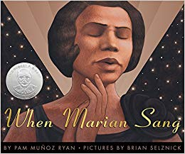 Cover of When Marian Sang
