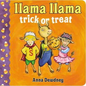 Cover of Llama Llama Trick or Treat by Dewdney