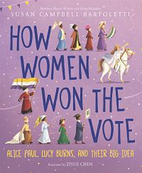 cover of how women won the vote