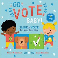 Cover of Go Vote Baby! by Lambert