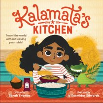 Book cover of Kalamatas Kitchen by Thomas