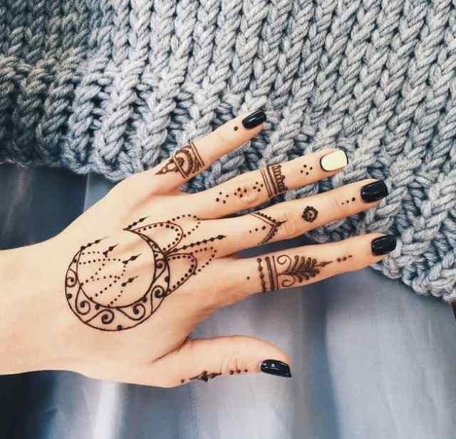 Comment faire vos propres tatouages au henné - modele dessin tatouage temporaire au henne - Babylone Paris
