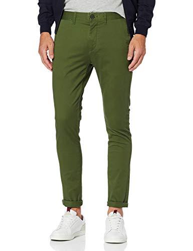 Pantalon Homme, Vert (Kaki Green)), W34/L34 (Taille fabricant:44)
