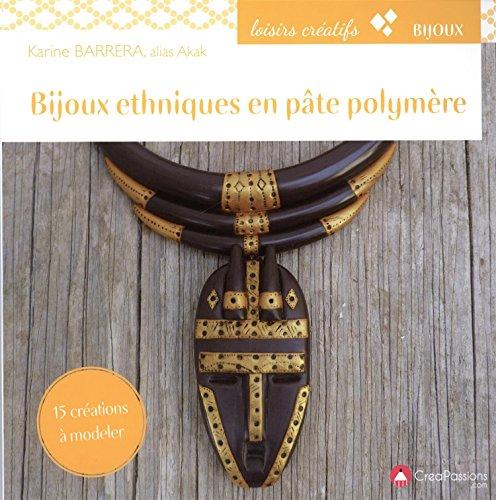 Bijoux ethniques en pâte polymère