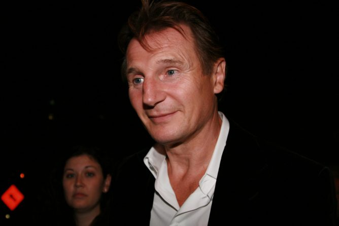 Picture of Liam Neeson. American Actor. Review of his latest movie: Cold Pursuit.