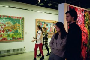 Art gallery exhibition. For top 5 events in Dublin this weekend.