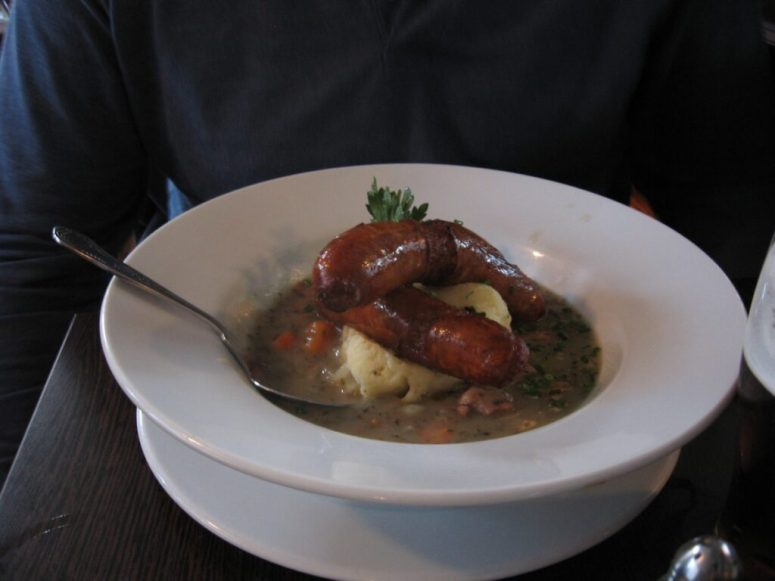 Traditional warming Irish Recipes, Dublin Coddle