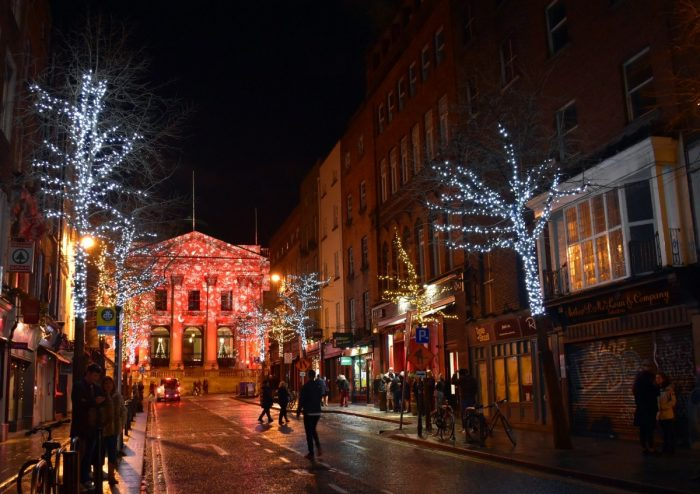 winter lights dublin