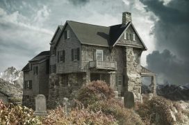 House Cemetery Haunted House 2187170