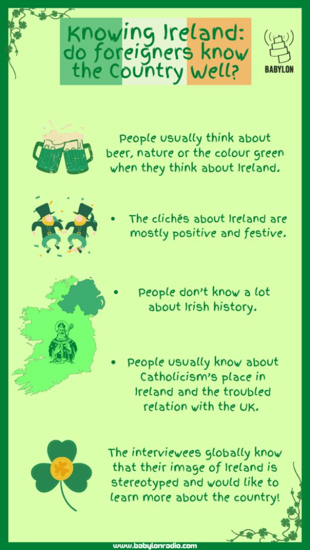 Knowing Ireland: do foreigners know the country well