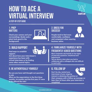 How to Ace Virtual Interview Insta