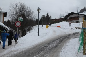 Buggy Friendly Winter Walk in St Anton am Arlberg