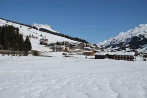 Buggy Friendly Winter Walk in Lech