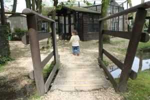 Toddler's visit to Shepreth Wildlife Park