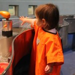 Toddler's Visit to the Science Museum in London