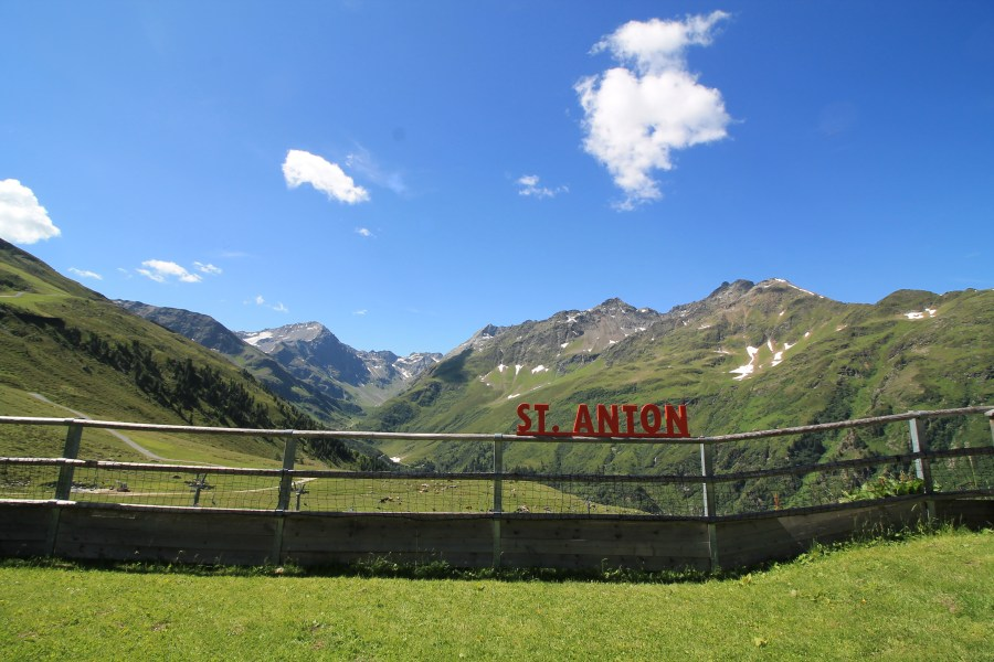 Toddler's Summer in St Anton am Arlberg