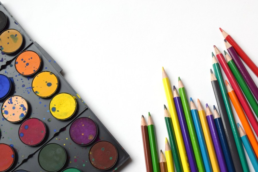 Travel-Friendly Crafts for a Toddler